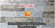 Gạch 3D bóng trang trí ốp tường 200x400 KAG-7467