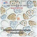 Gạch 3D bóng lát WC 30x30 KAG-30720