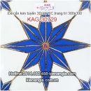 Đá kim tuyến trang trí,lát WC 30X30 KAG-30729