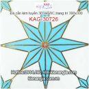 Đá kim tuyến trang trí,lát WC 30X30 KAG-30726