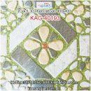 Gạch 3D nhám lát sân vườn 40x40 KAG-40193