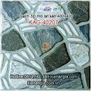 Gạch 3D mờ lát sân 400x400 KAG-40207