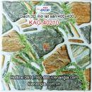 Gạch 3D mờ lát sân 400x400 KAG-40210