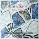 Gạch 3D mờ lát sân 400x400 KAG-40212