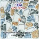 Gạch 3D bóng 30x30 lát phòng tắm KAG-30746