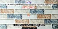 Gạch 3D bóng mẫu 2020 trang trí ốp tường 300x600 KAG-36805