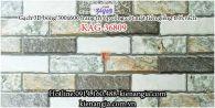 Gạch 3D bóng mẫu 2020 trang trí ốp tường 300x600 KAG-36809