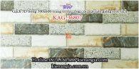 Gạch 3D bóng mẫu 2020 trang trí ốp tường 300x600 KAG-36807