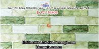 Gạch 3D bóng mẫu 2020 trang trí ốp tường 300x600 KAG-36806