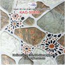 Gạch 3D nhám 50x50 lát sân KAG-50028