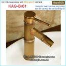 Vòi chậu nóng lạnh đồng giả cổ KAG-Br61
