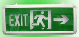 Đèn Exit 1 mặt chỉ dẫn