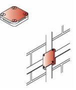 Kẹp thanh nhôm/thanh đồng 2/4 ngã cho hệ thống chống sét (2/4 vít) 2
