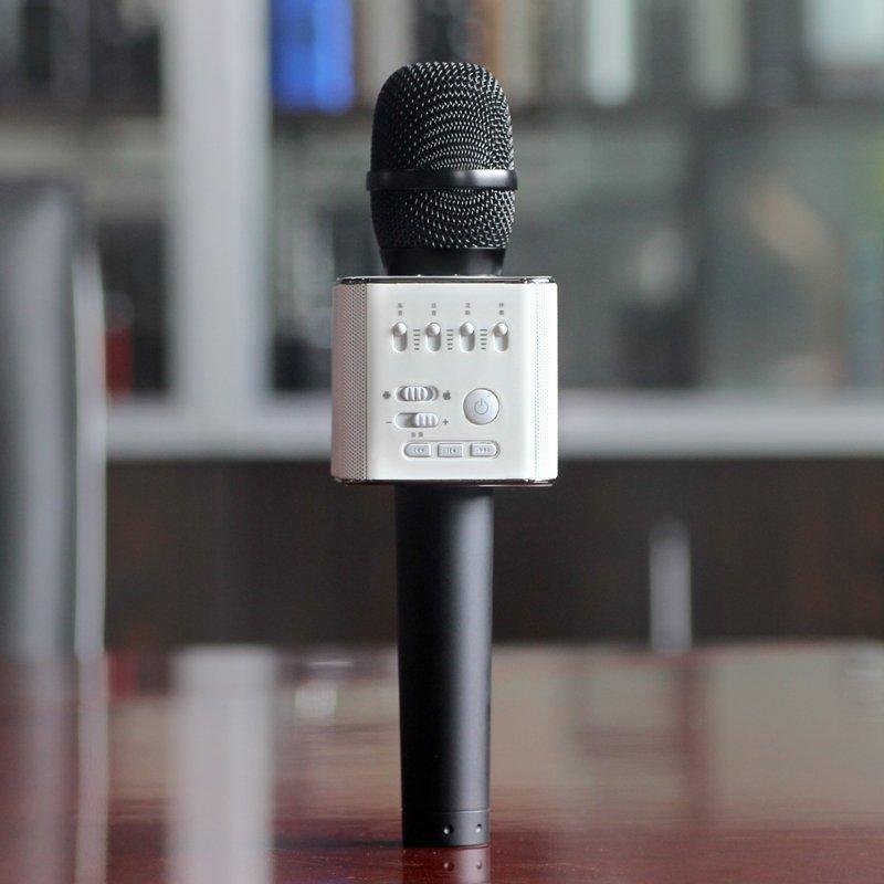 Mic Bluetooth Micgeek Q9 Kèm Loa tặng sạc sam sung
