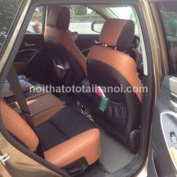 Bọc ghế da xe Hyundai Santafe