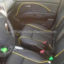 Bọc ghế da cho xe kia morning van