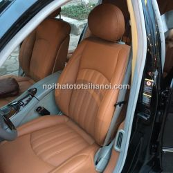 Bọc ghế da xe Mercedes E240
