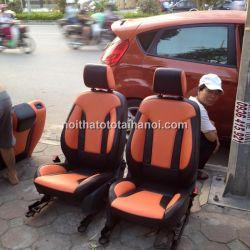 Bọc ghế da xe Ford Fiesta
