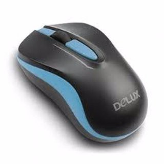 Mouse Wireless Delux M137 Black