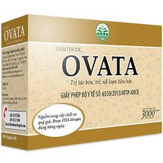 Thảo Dược OVATA - Giúp nhuận tràng, hỗ trợ điều trị bệnh trĩ, táo bón.