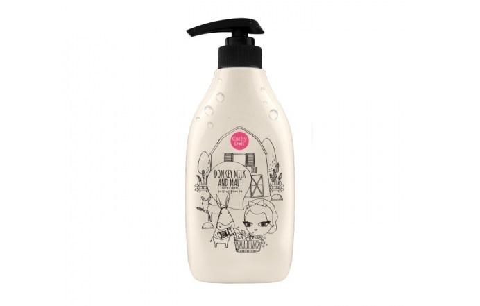 Kem tắm từ sữa Lừa, lúa mạch Cathy Doll Donkey Milk & Malt Bath Cream