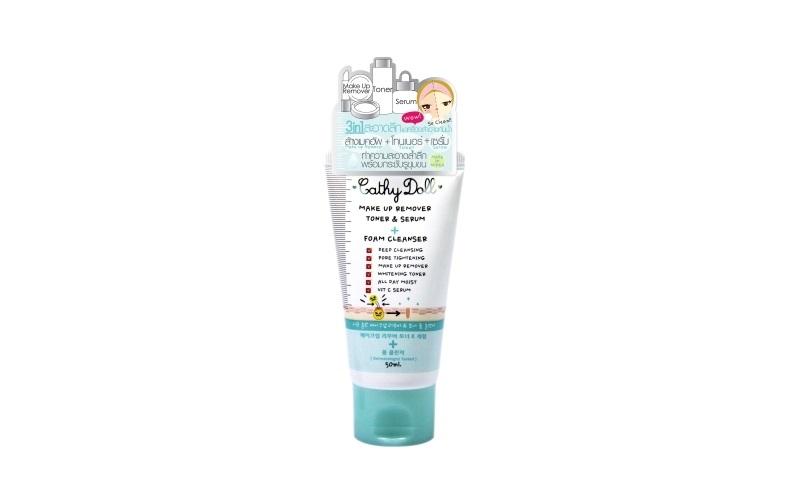 Sữa rửa mặt Make Up Remover Toner Serum Foam Cleanser, tẩy trang, làm sạch da