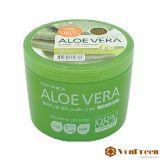 Gel lô hội Aloe Vera Moisture Real Soothing Gel 98, dưỡng ẩm, trị mụn, da trắng mềm mịn