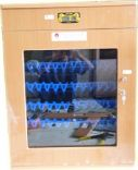 Máy ấp trứng tủ gỗ mini AG-300