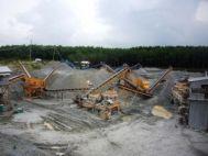 Máy nghiền sàng đá công suất 150 tấn/giờ