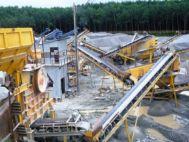 Máy nghiền sàng đá công suất 250 tấn/giờ