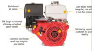 Động cơ xăng Honda GX340UT2QA2