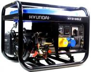 Máy phát điện chạy xăng Hyundai HY3100LE- điện 2.8KW