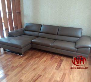 sofa góc da MST56