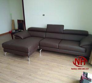 sofa góc da ms 55