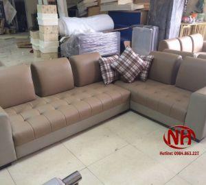 sofa góc da ms 61