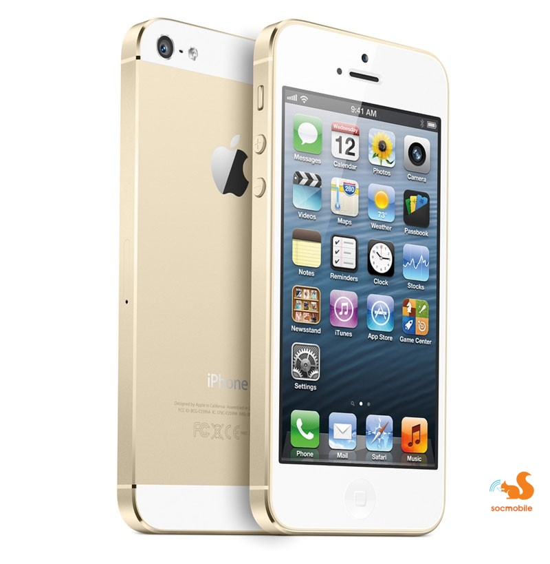 iPhone 5s - Lock 32GB Gold
