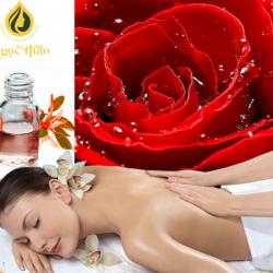 Dầu massage toàn thân hoa hồng
