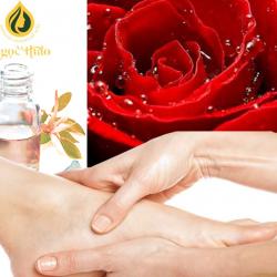 Dầu Massage chân hương Hoa Hồng