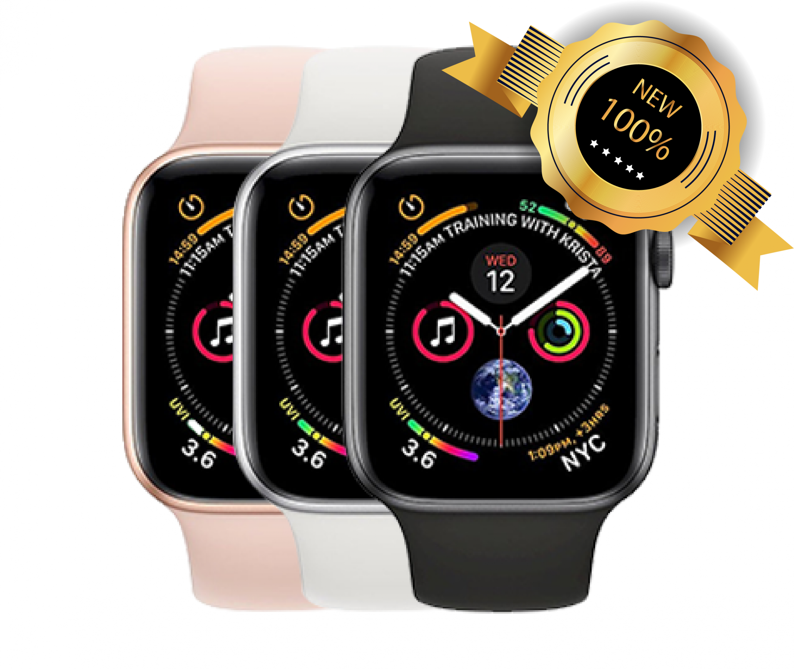 Apple Watch Series 4 (40 MM) GPS Nhôm - Dây Cao Su