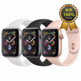 Apple Watch Series 4 (44 MM) LTE Thép - Dây Cao Su