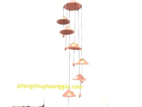Chuông Gió Gốm Bát Tràng 6 Quả MSP: CGBT3201