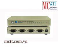 Bộ chuyển đổi USB sang 4 cổng RS-232 3Onedata USB4232