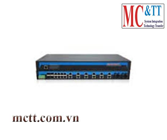 Switch công nghiệp 20 cổng Ethernet + 4 cổng quang + 4 cổng quang SFP 3onedata IES1028-4GS-4F