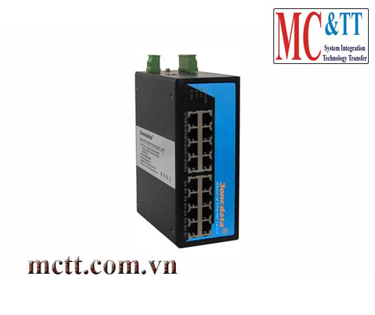 Switch công nghiệp quản lý 16 cổng Gigabit Ethernet 3Onedata IES7116G