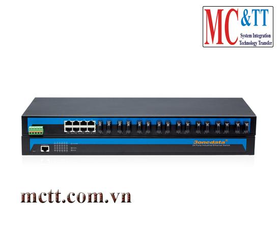 Switch công nghiệp 8 cổng Ethernet và 16 cổng quang 3onedata IES1024-16F