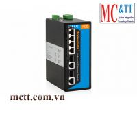 Switch công nghiệp 4 cổng fast PoE Ethernet + 2 cổng combo Gigabit SFP 3Onedata IPS316-2GC-4POE