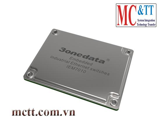 Module nhúng switch công nghiệp 7 cổng Ethernet + 3 cổng Gigabit Ethernet 3Onedata IEM7010