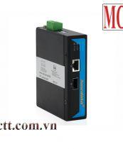 Bộ chuyển đổi quang điện công nghiệp 1 cổng Gigiabit PoE Ethernet + 1 cổng quang SFP 3Onedata IPMC101GT-GS-POE