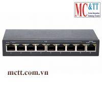 Switch 8 cổng PoE Ethernet 3Onedata ES1009D-8POE-150W
