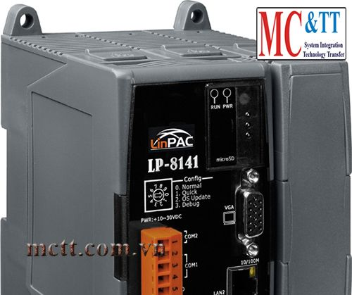 Standard LinPAC-8000 with 1 I/O Slot ICP DAS LP-8141-G